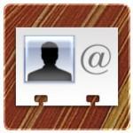 vcard-symbol auf Mac