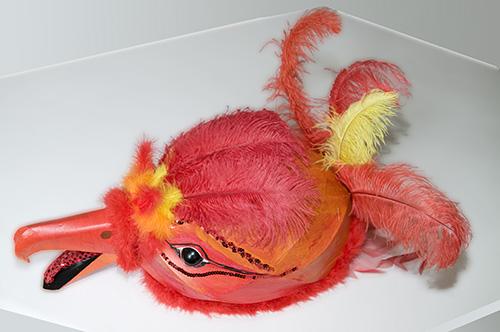 Maske eines Phönix