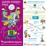 Flyer für den Super-Ferien-Pass 2013/14