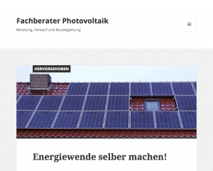 Website: fachberater-photovoltaik.de screenshot