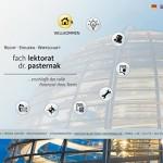 Screenshot Startseite lektorat-pastermak.de (alt)