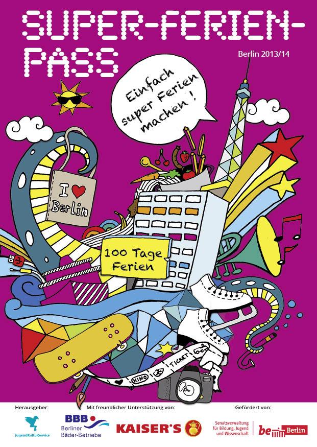 Cover Super-Ferien-Pass 2013/14
