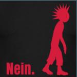 T-Shirt Motiv: Punker